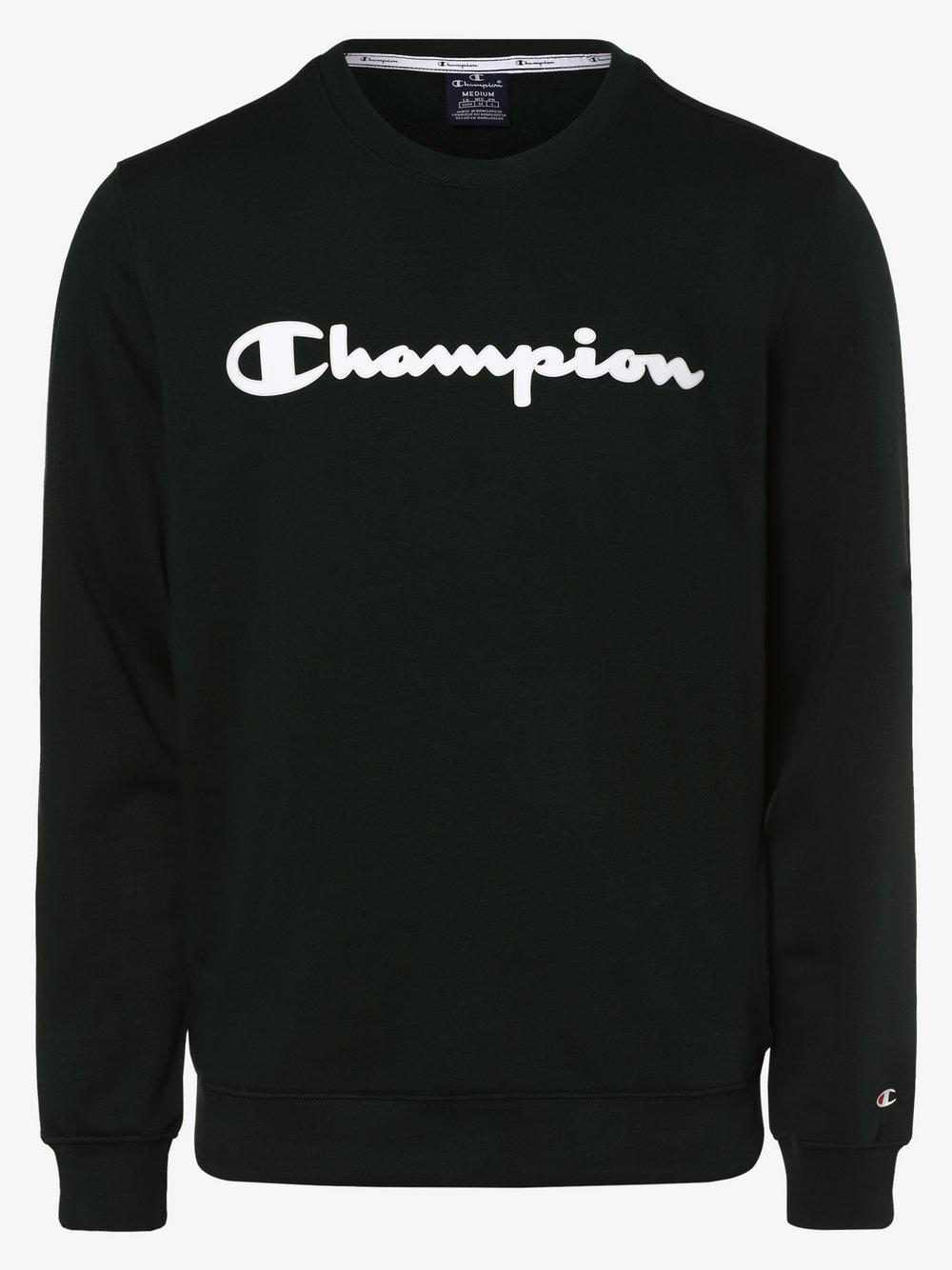 Champion - Męska bluza nierozpinana, zielony