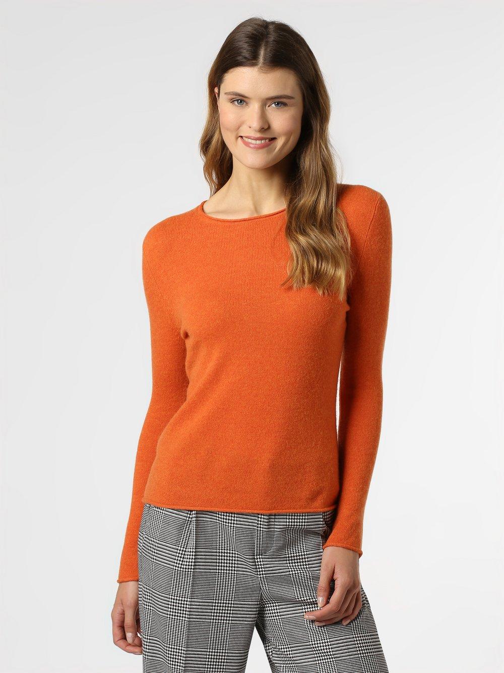 Marie Lund - Sweter damski, pomarańczowy