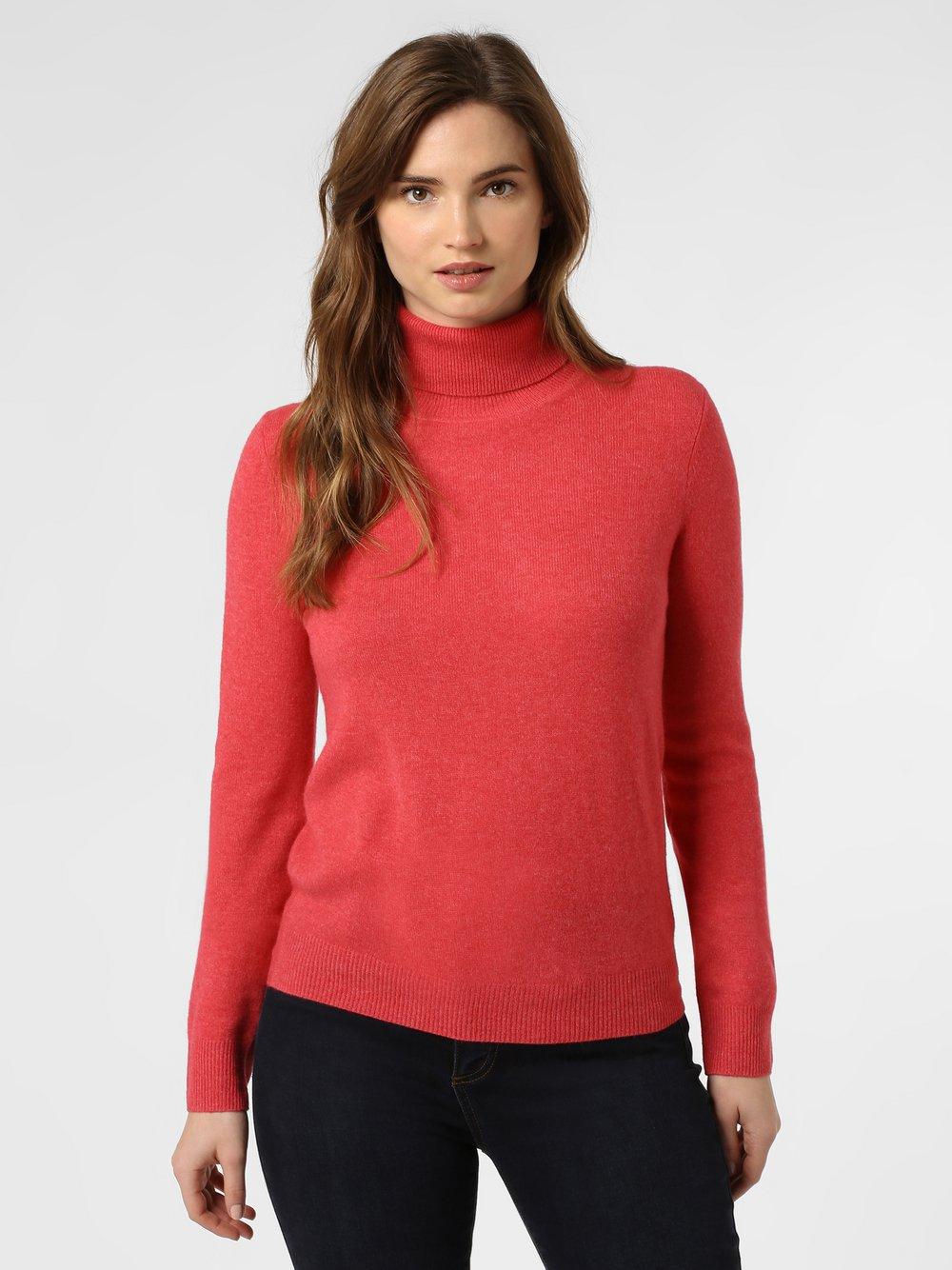 Franco Callegari - Sweter damski z czystego kaszmiru, czerwony