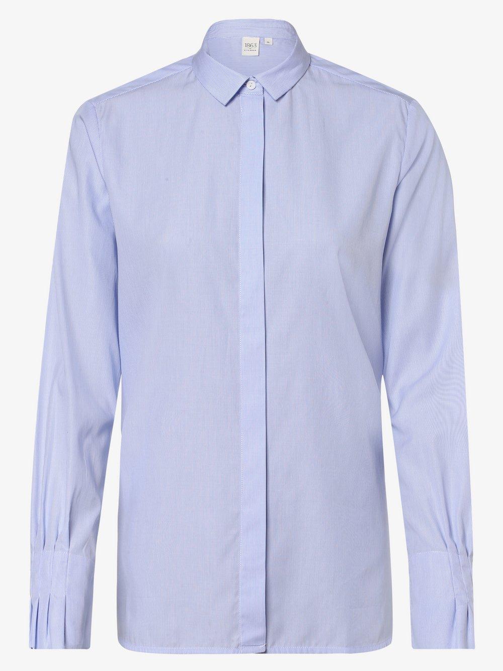 Eterna Premium – Bluzka damska, niebieski Van Graaf 442780-0001-00360