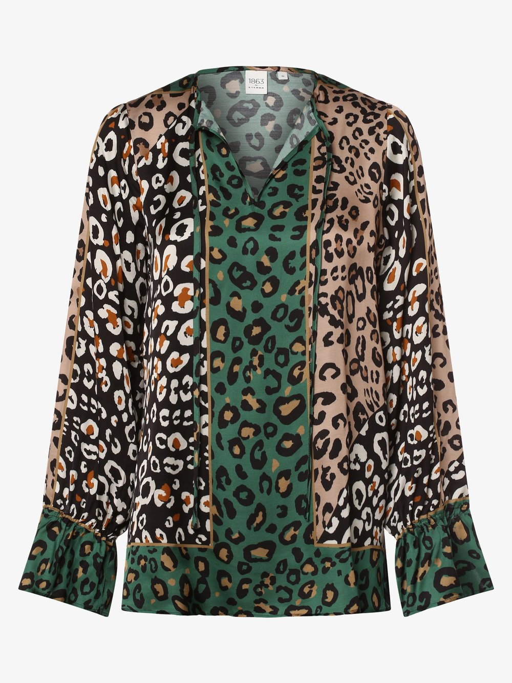 Eterna Premium – Bluzka damska, beżowy Van Graaf 442792-0001