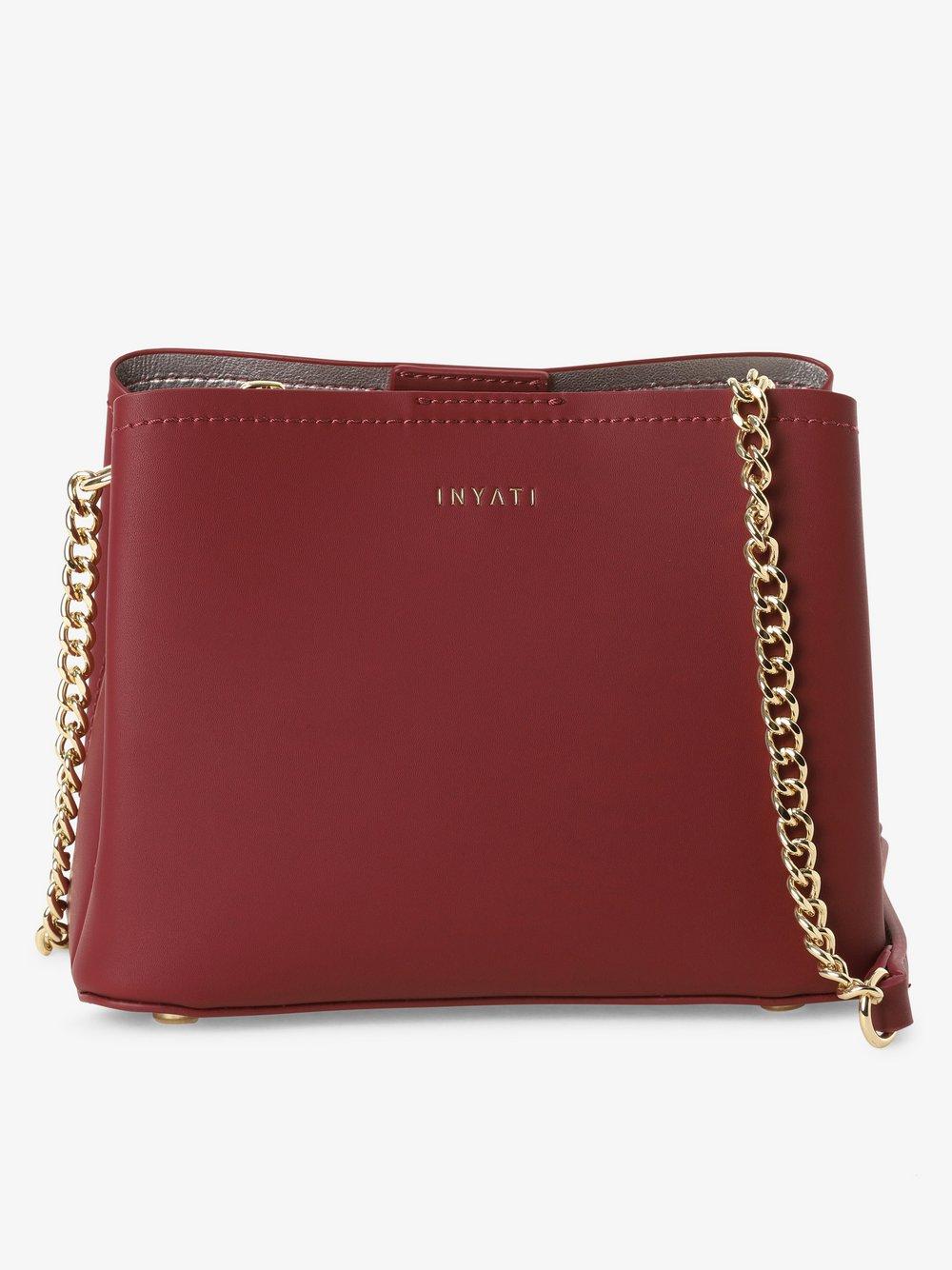 Inyati – Damska torebka na ramię, czerwony Van Graaf 442909-0001
