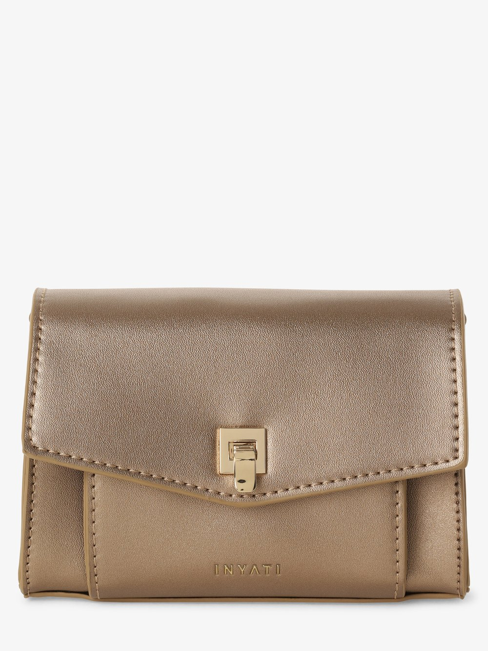 Inyati – Damska torebka na ramię, złoty Van Graaf 442913-0001-00000