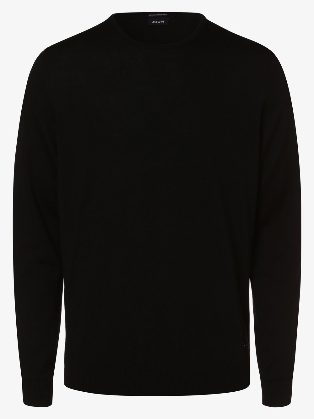 Joop - Męski sweter z wełny merino – Denny, czarny