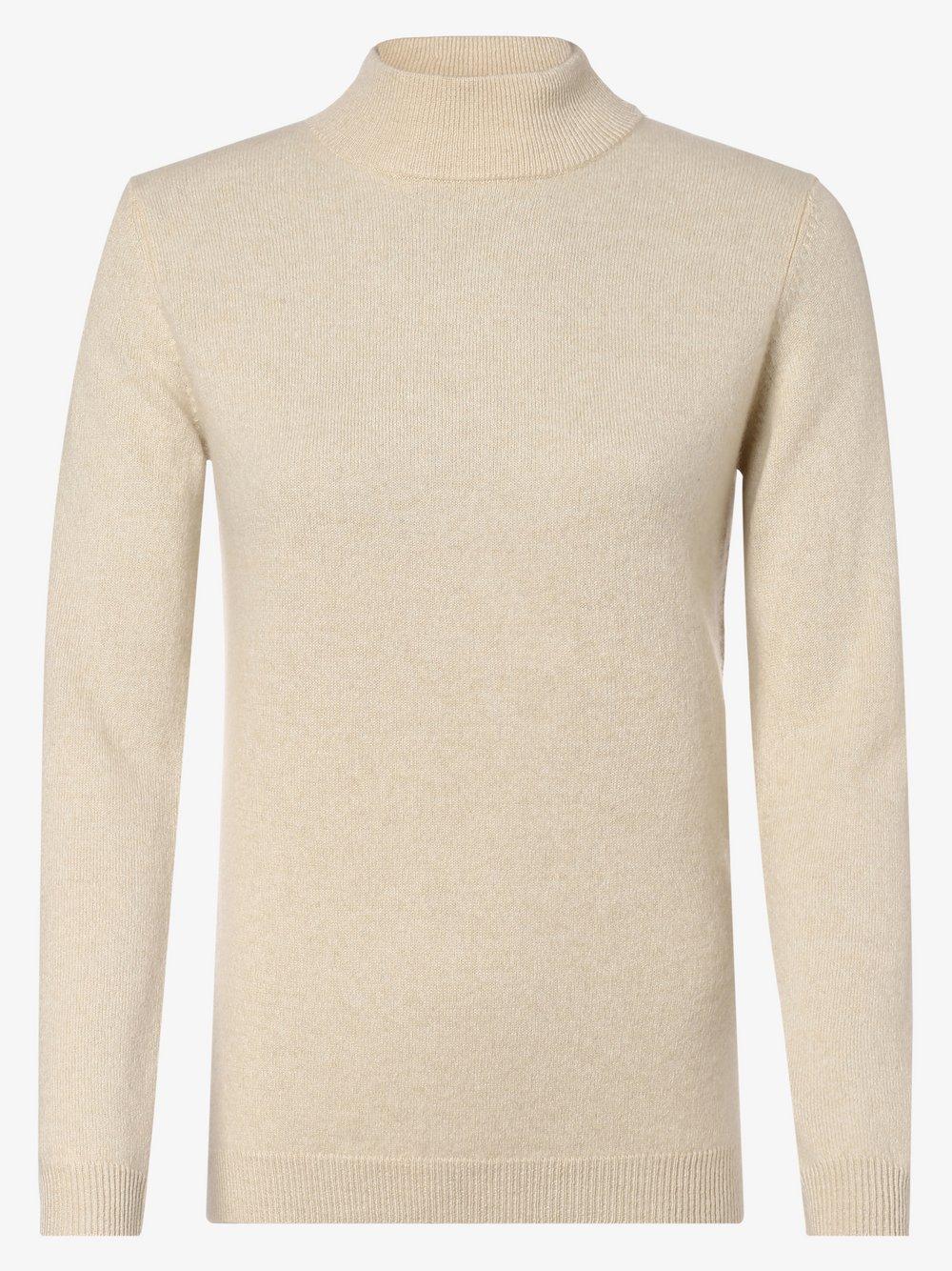 SvB Exquisit – Sweter damski z czystego kaszmiru, beżowy Van Graaf 443451-0004