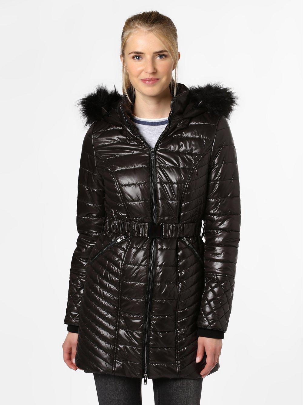VG – Damski płaszcz pikowany, czarny Van Graaf 443534-0001-00380
