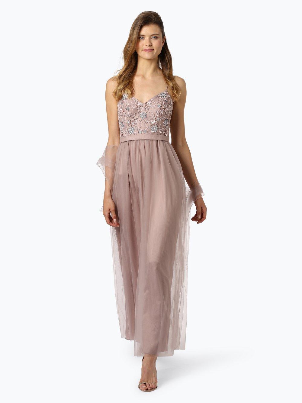 Laona – Damska sukienka wieczorowa, beżowy Van Graaf 443711-0001-09940