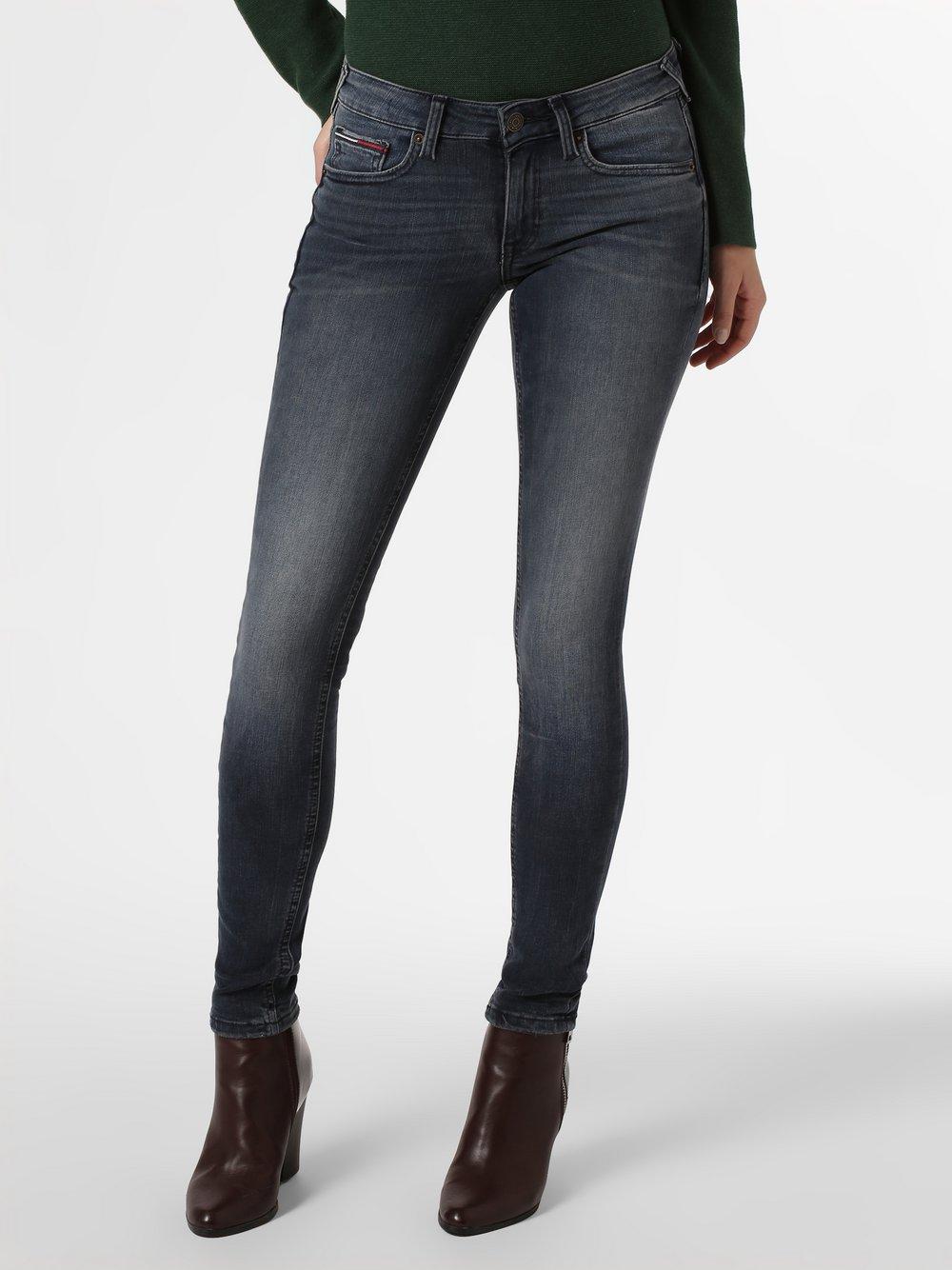 Tommy Jeans - Jeansy damskie – Sophie, niebieski