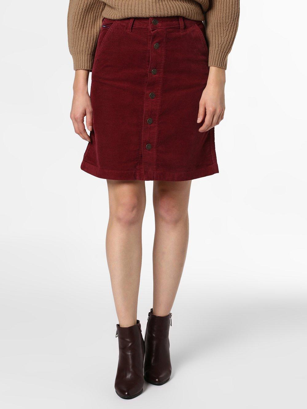 Tommy Jeans - Spódnica damska, czerwony