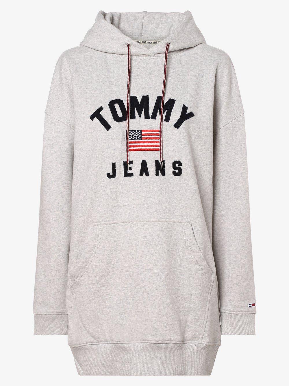 Tommy Jeans - Sukienka damska, szary Tommy Jeans