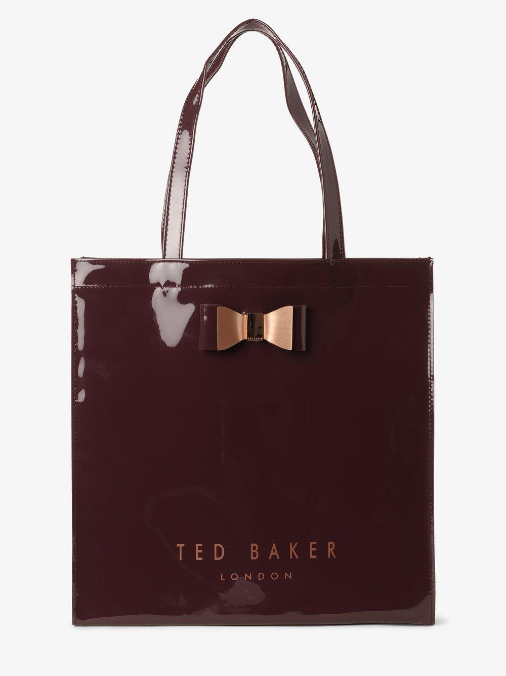 Ted Baker - Damska torba shopper – Sofcon, czerwony