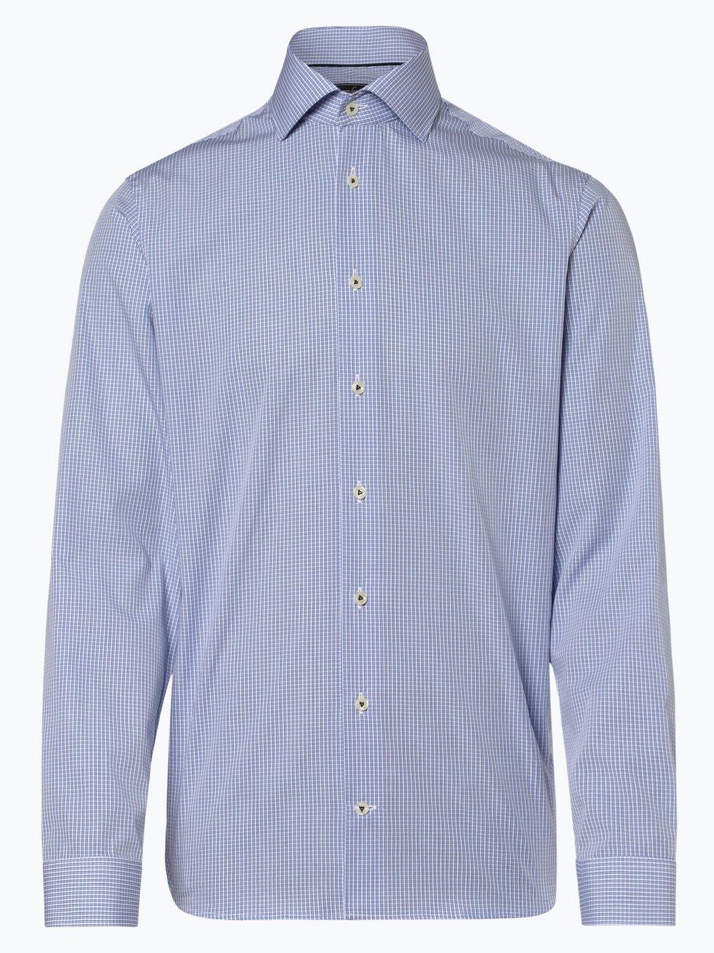 Van Laack – Koszula męska, niebieski Van Graaf 444138-0001