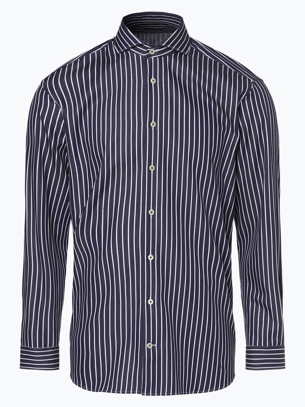 Van Laack – Koszula męska – Tailor fit, niebieski Van Graaf 444149-0001-00390