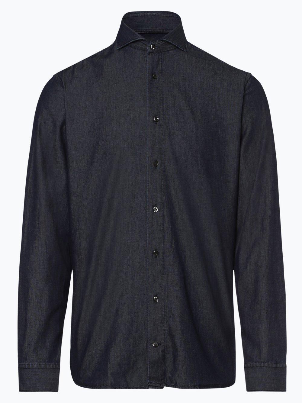 Van Laack – Koszula męska, niebieski Van Graaf 444155-0001-00410