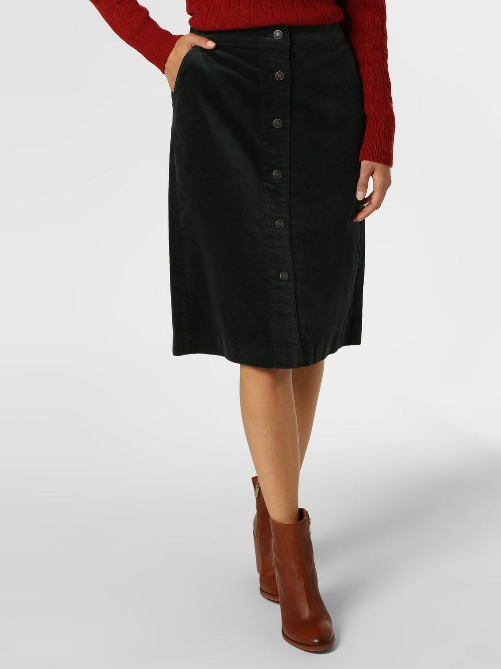 Marie Lund - Spódnica damska, zielony