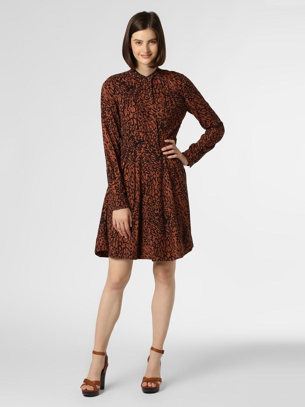 Calvin Klein - Sukienka damska, pomarańczowy Calvin Klein