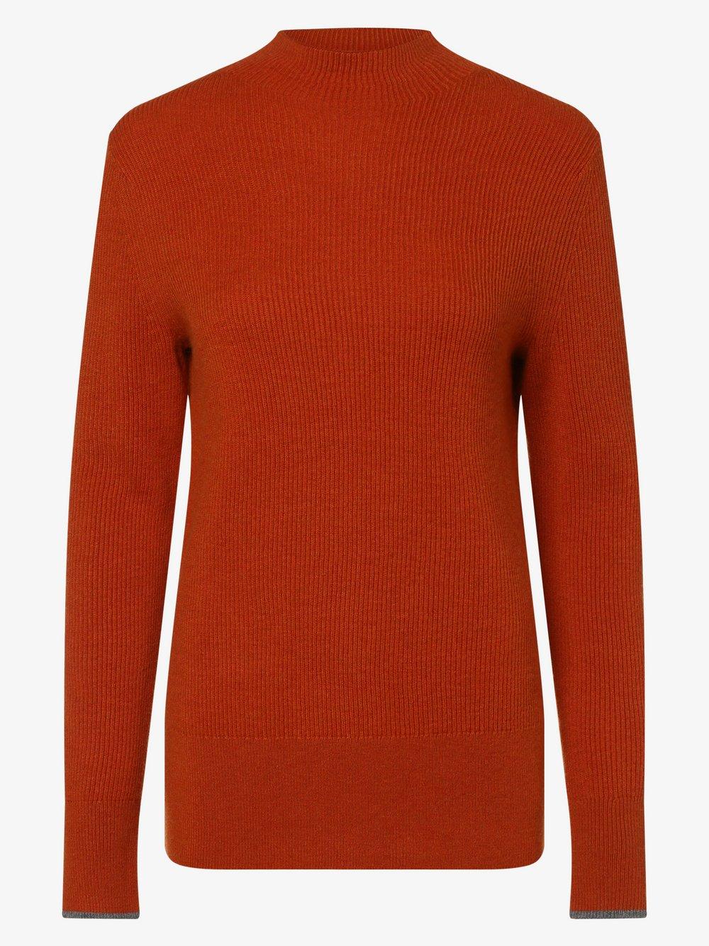 Calvin Klein - Sweter damski, pomarańczowy