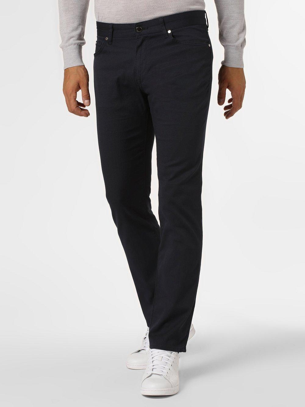 BOSS - Spodnie męskie, niebieski