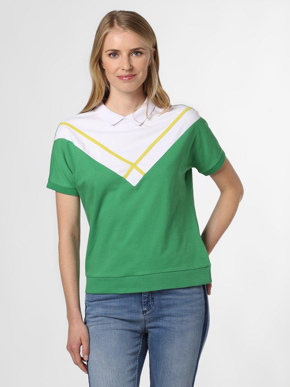 Marie Lund - Damska koszulka polo, zielony Marie Lund