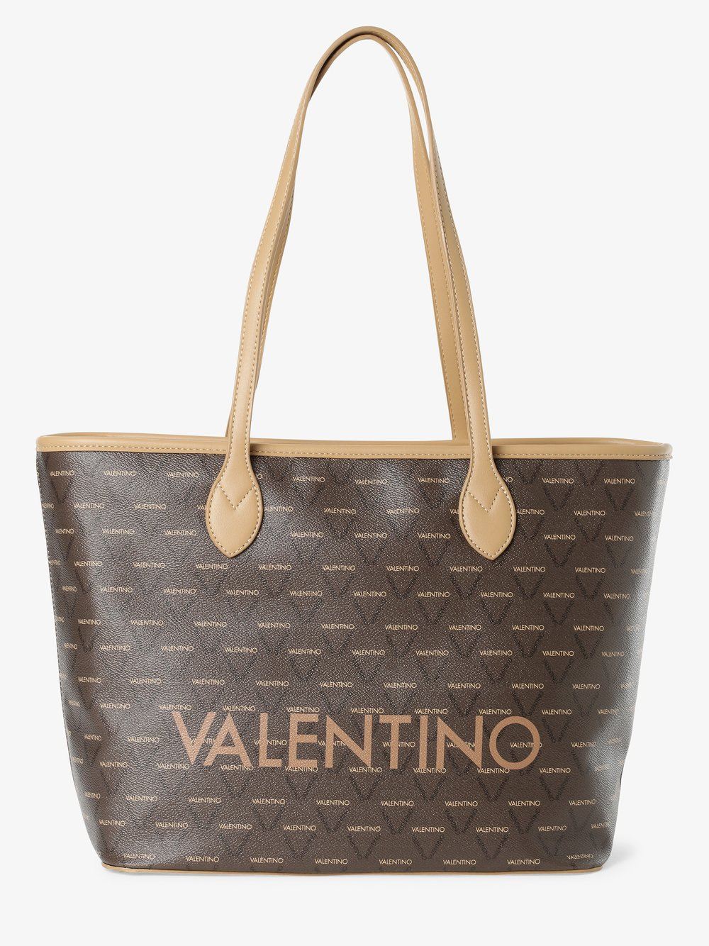 VALENTINO HANDBAGS – Damska torba shopper – Liuto, brązowy Van Graaf 444754-0002-00000