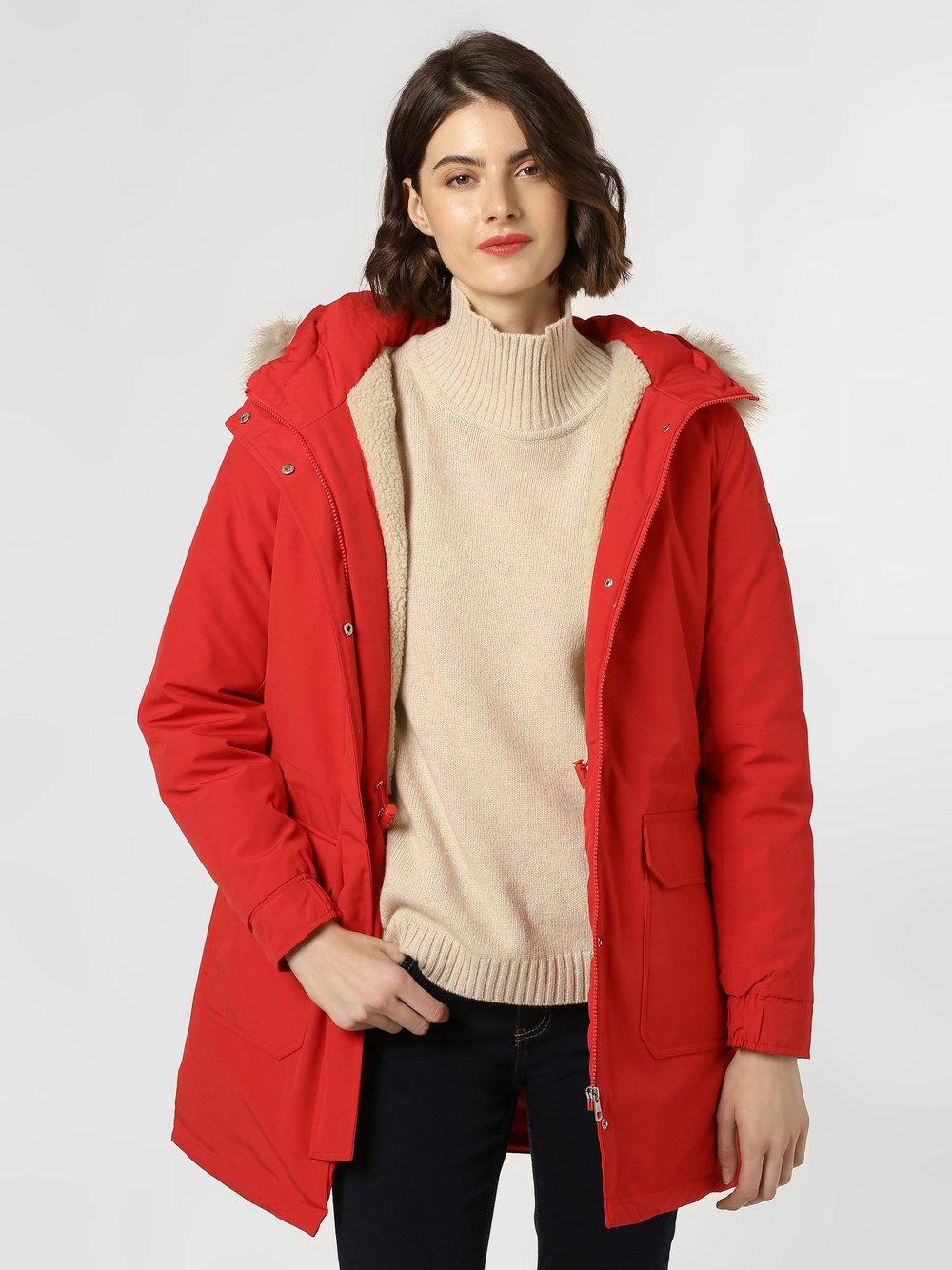 Calvin Klein Jeans - Płaszcz puchowy damski, czerwony