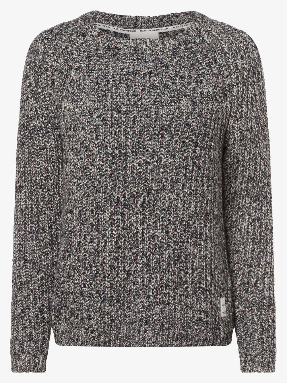 Marc O'Polo Denim – Sweter damski, wielokolorowy Van Graaf 444946-0001