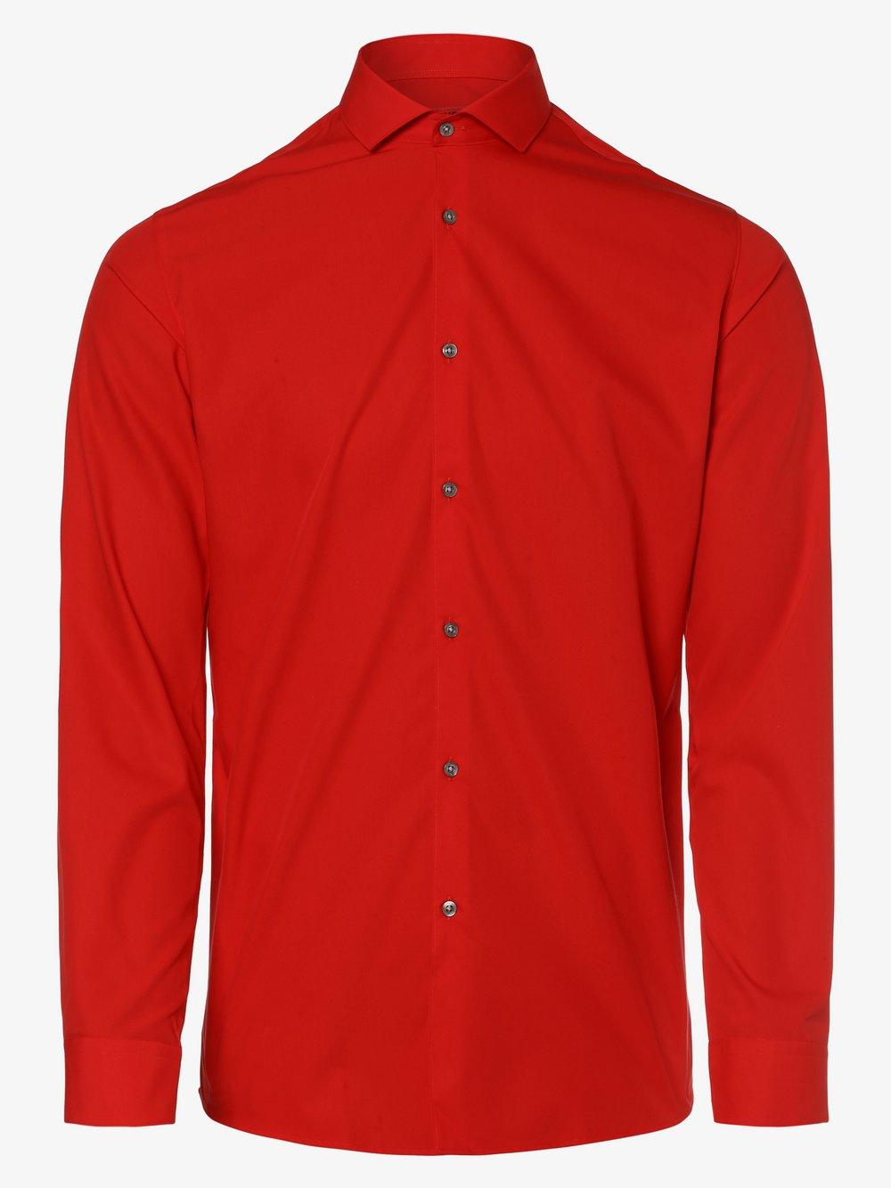 HUGO - Koszula męska łatwa w prasowaniu – Erriko, czerwony