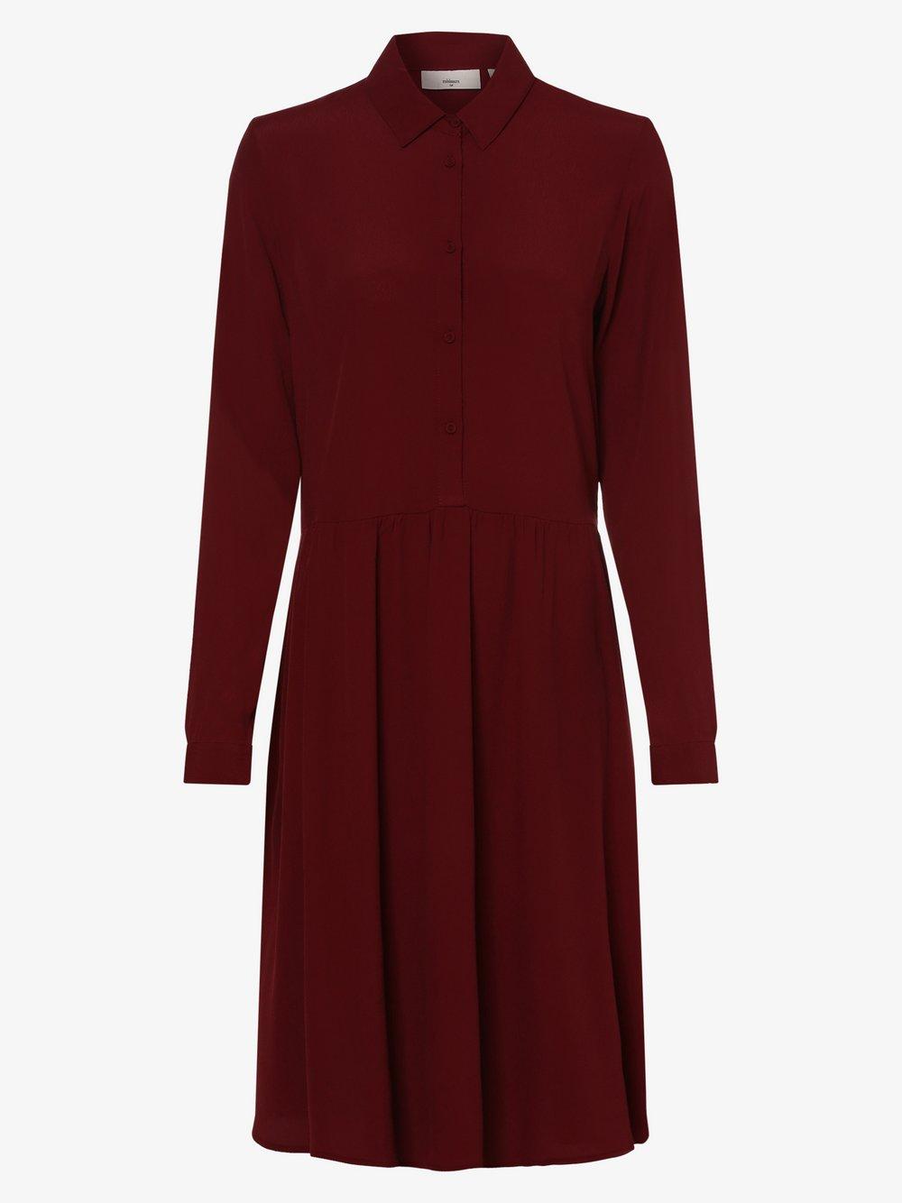 Minimum – Sukienka damska – Bindie, czerwony Van Graaf 445204-0001-00360