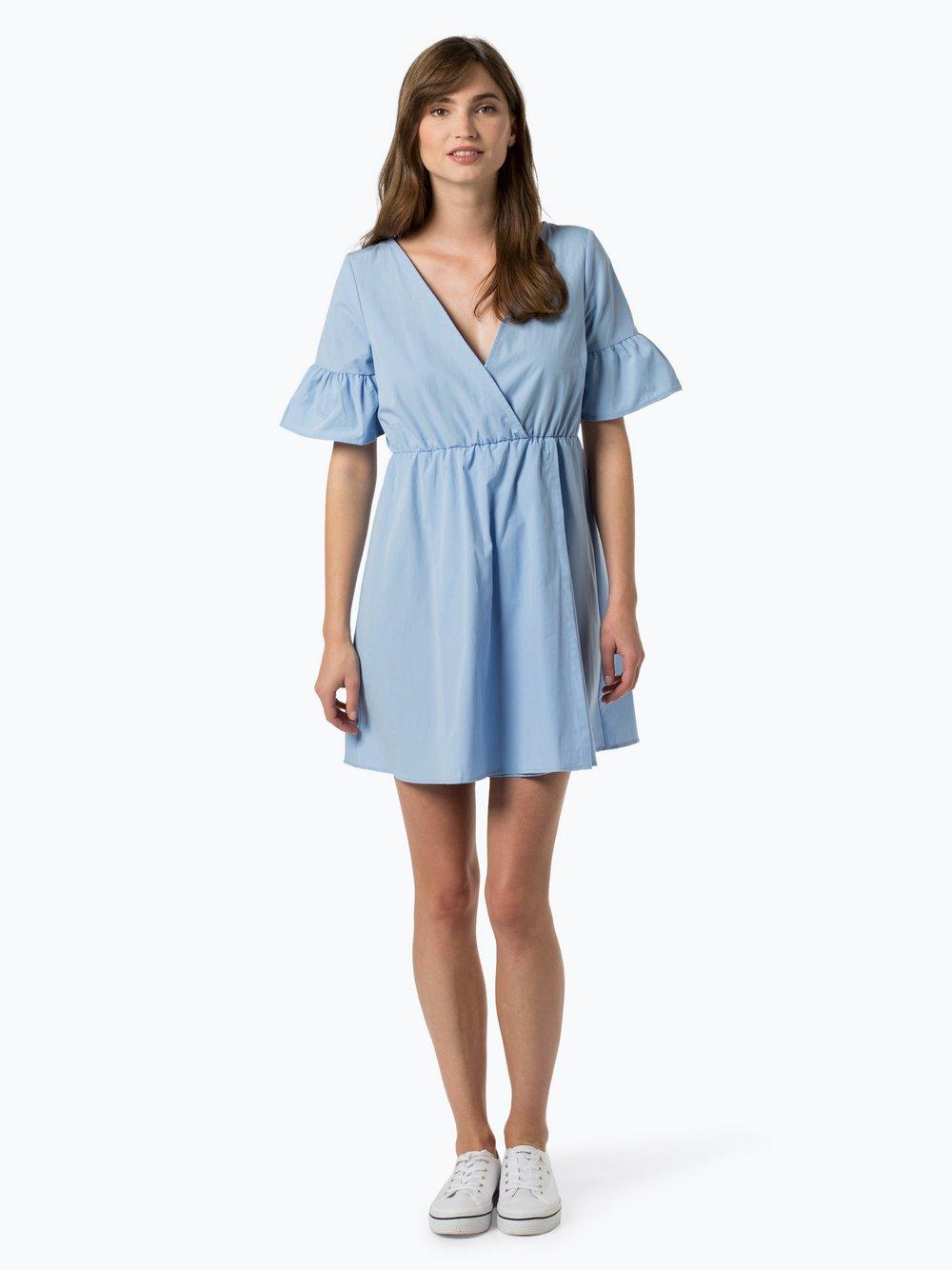 NA-KD - Sukienka damska, niebieski NA-KD