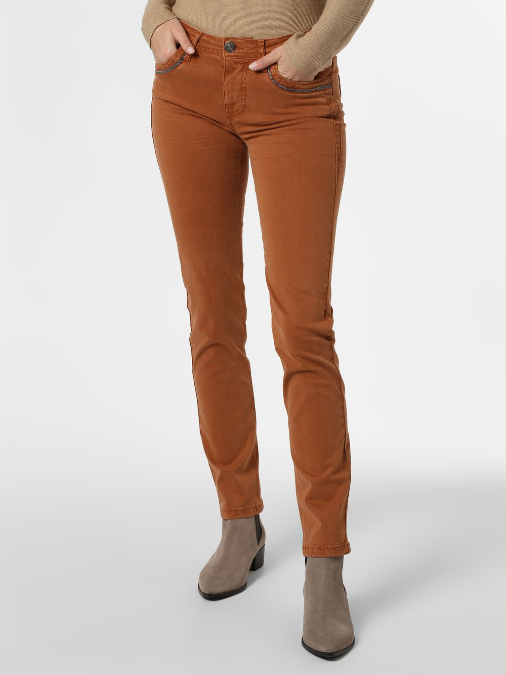 Blue Fire – Spodnie damskie, beżowy Van Graaf 445727-0001-03132