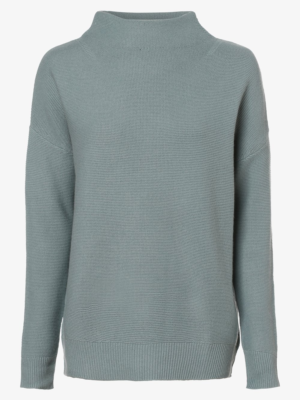 Lieblingsstück - Sweter damski z dodatkiem wełny merino i kaszmiru, niebieski