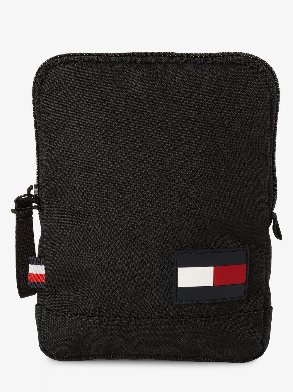 Tommy Hilfiger - Męska torebka na ramię, czarny
