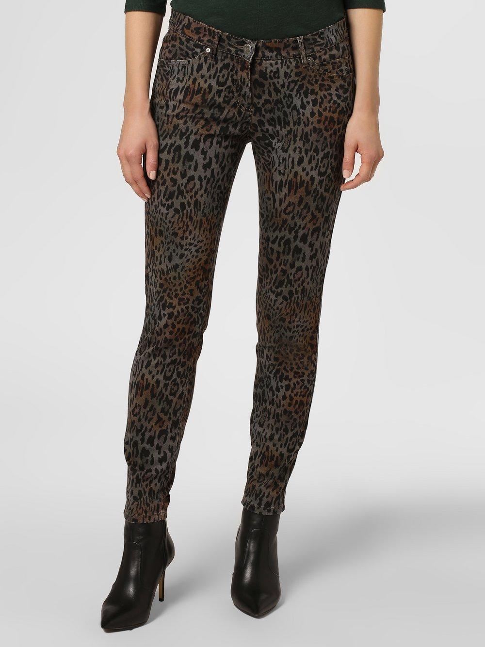 TONI – Spodnie damskie, brązowy Van Graaf 446328-0001-00400