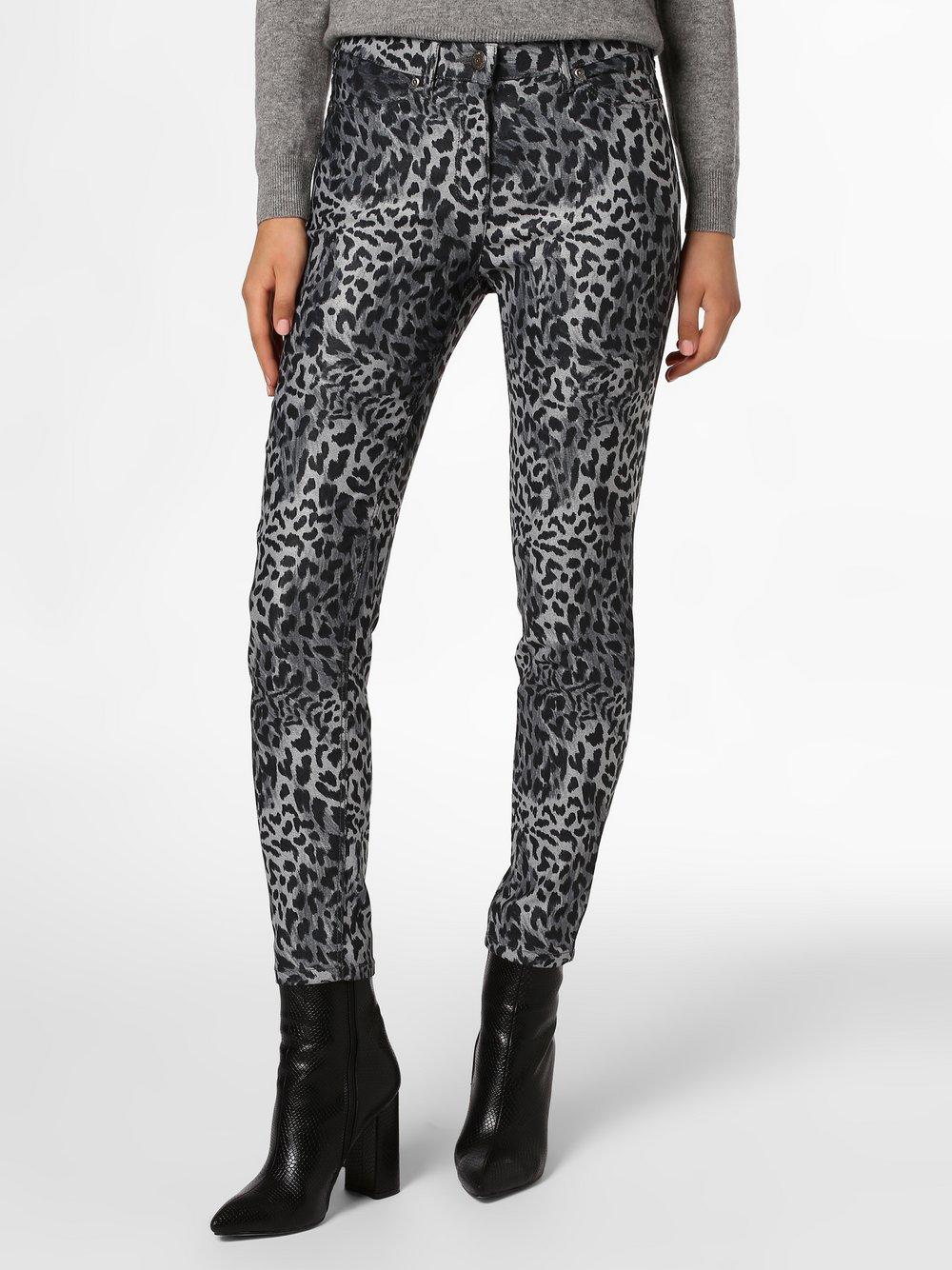 TONI – Spodnie damskie, szary Van Graaf 446330-0001-00460