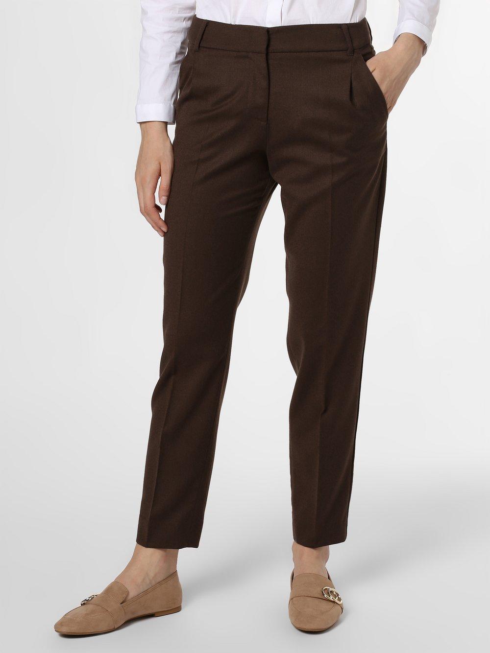 Weekend Max Mara - Spodnie damskie, brązowy