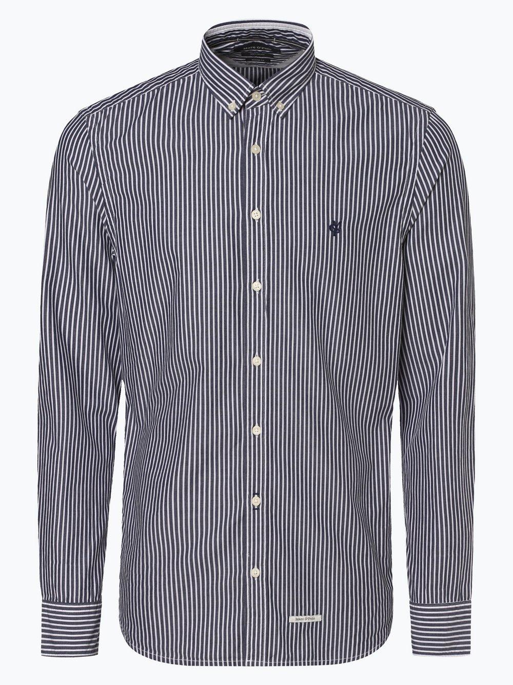 Marc O'Polo - Koszula męska, niebieski