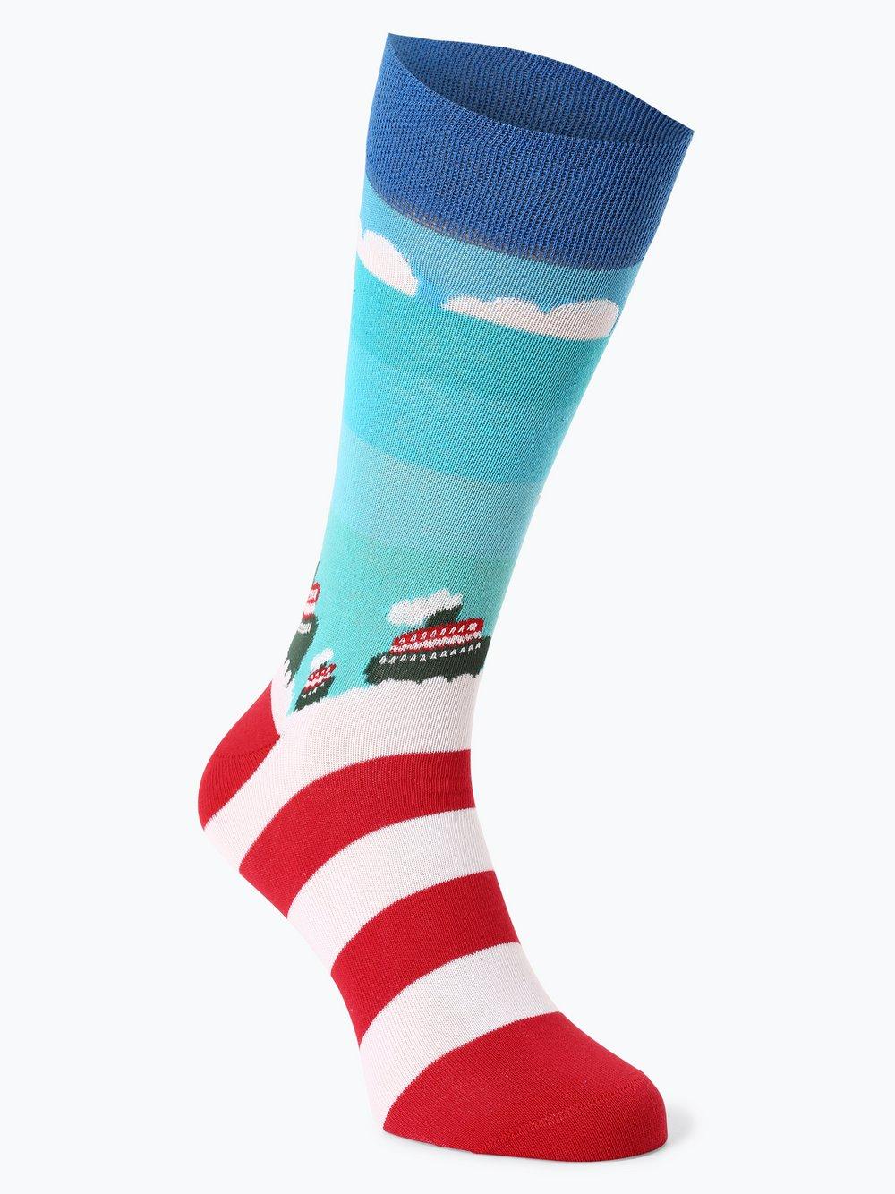 Unabux – Skarpety damskie, niebieski Van Graaf 446505-0001