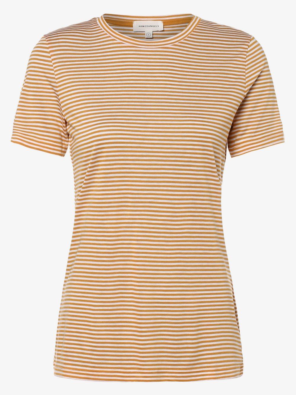 ARMEDANGELS - T-shirt damski, beżowy