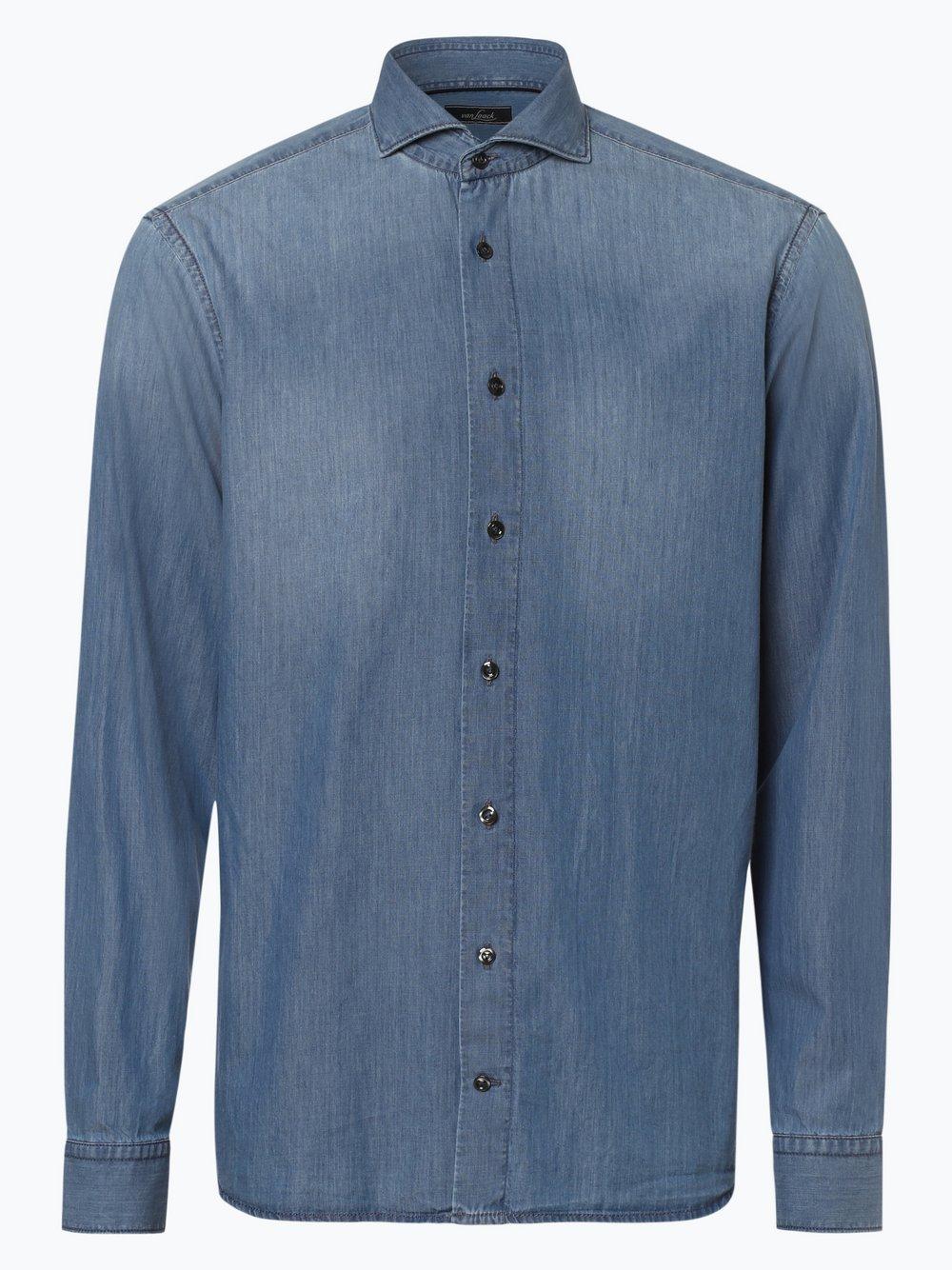 Van Laack – Koszula męska, niebieski Van Graaf 447012-0001-00410
