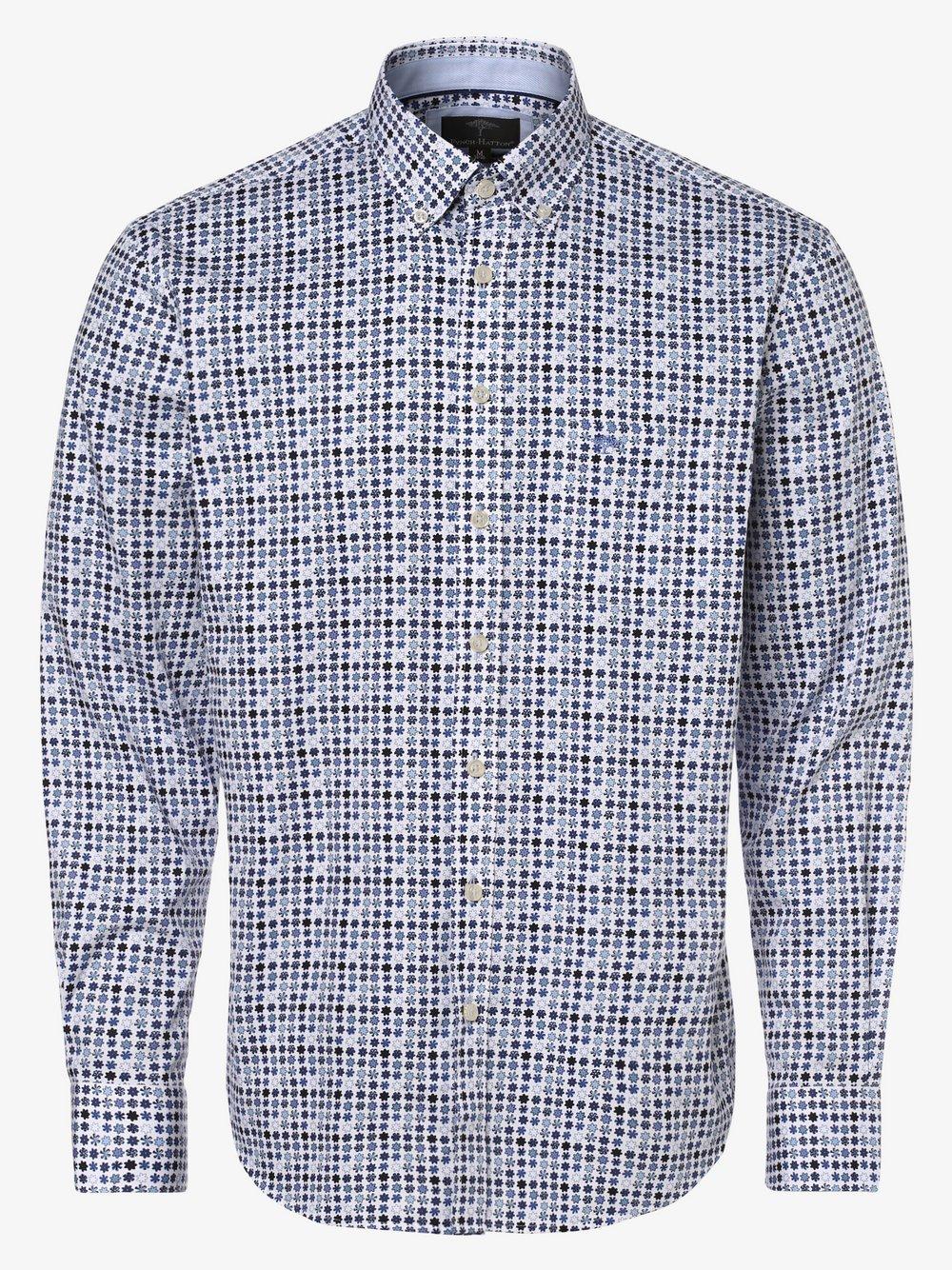 Fynch-Hatton – Koszula męska, biały Van Graaf 447133-0002-09940