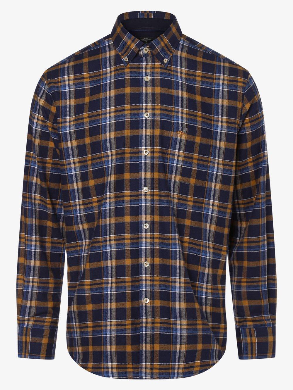 Fynch-Hatton – Koszula męska, niebieski Van Graaf 447135-0001