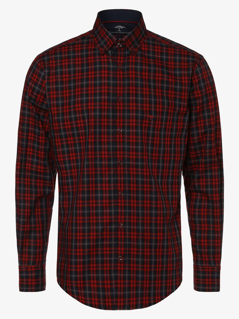 Fynch-Hatton – Koszula męska, niebieski Van Graaf 447136-0002-09940