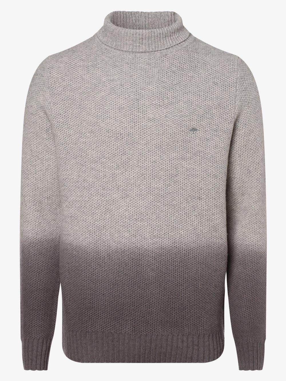 Fynch-Hatton – Sweter męski, szary Van Graaf 447150-0002-09940