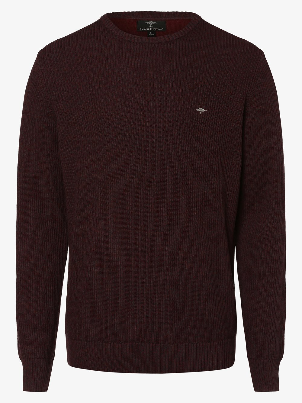 Fynch-Hatton – Sweter męski, czerwony Van Graaf 447155-0001