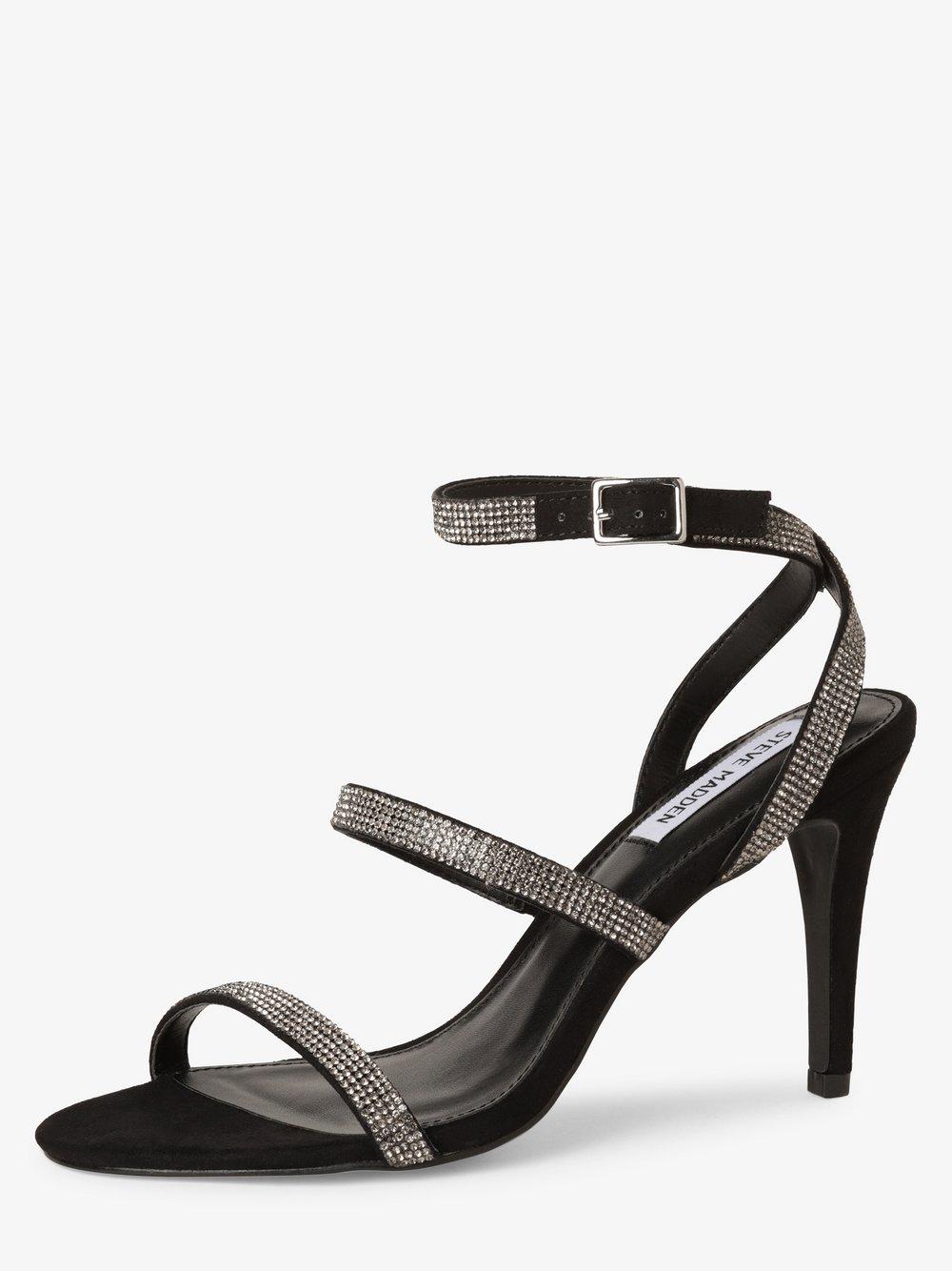 Steve Madden - Damskie sandały na obcasie – Equal, czarny