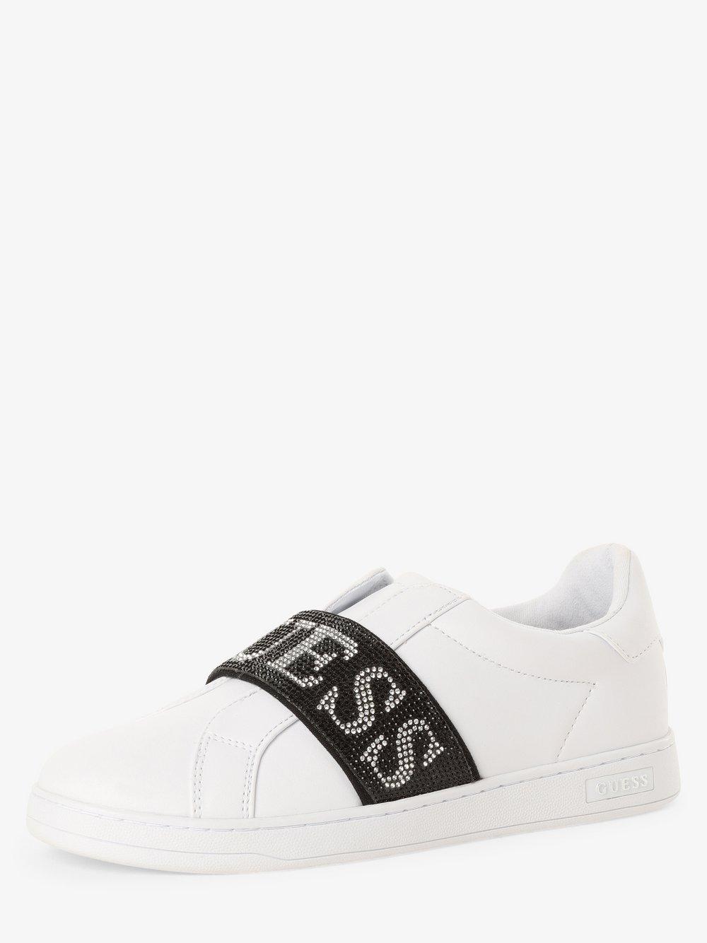 Guess Jeans - Tenisówki damskie, biały