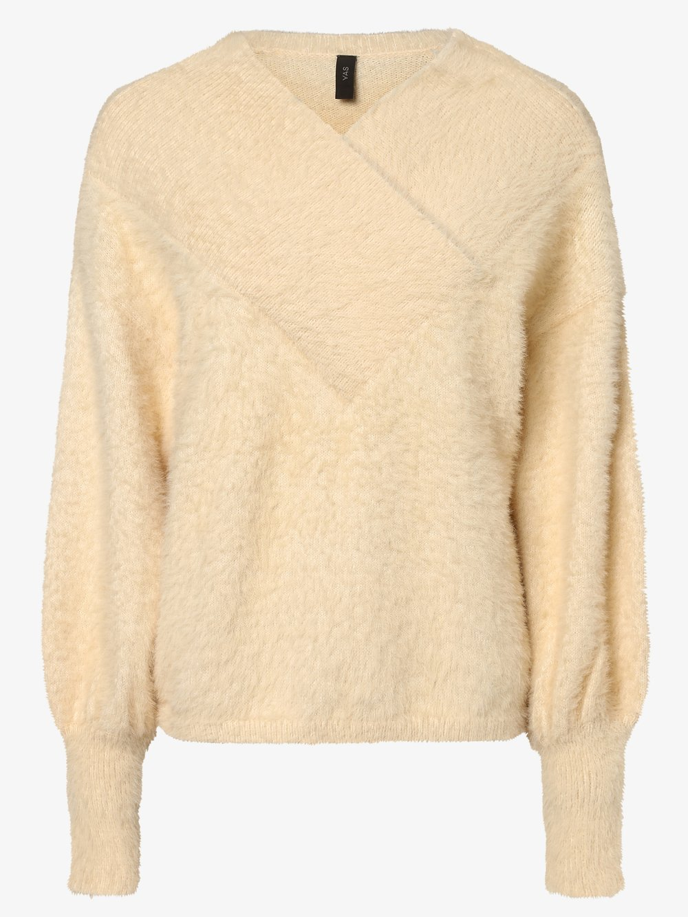 Y.A.S - Sweter damski – Yasfleur, biały