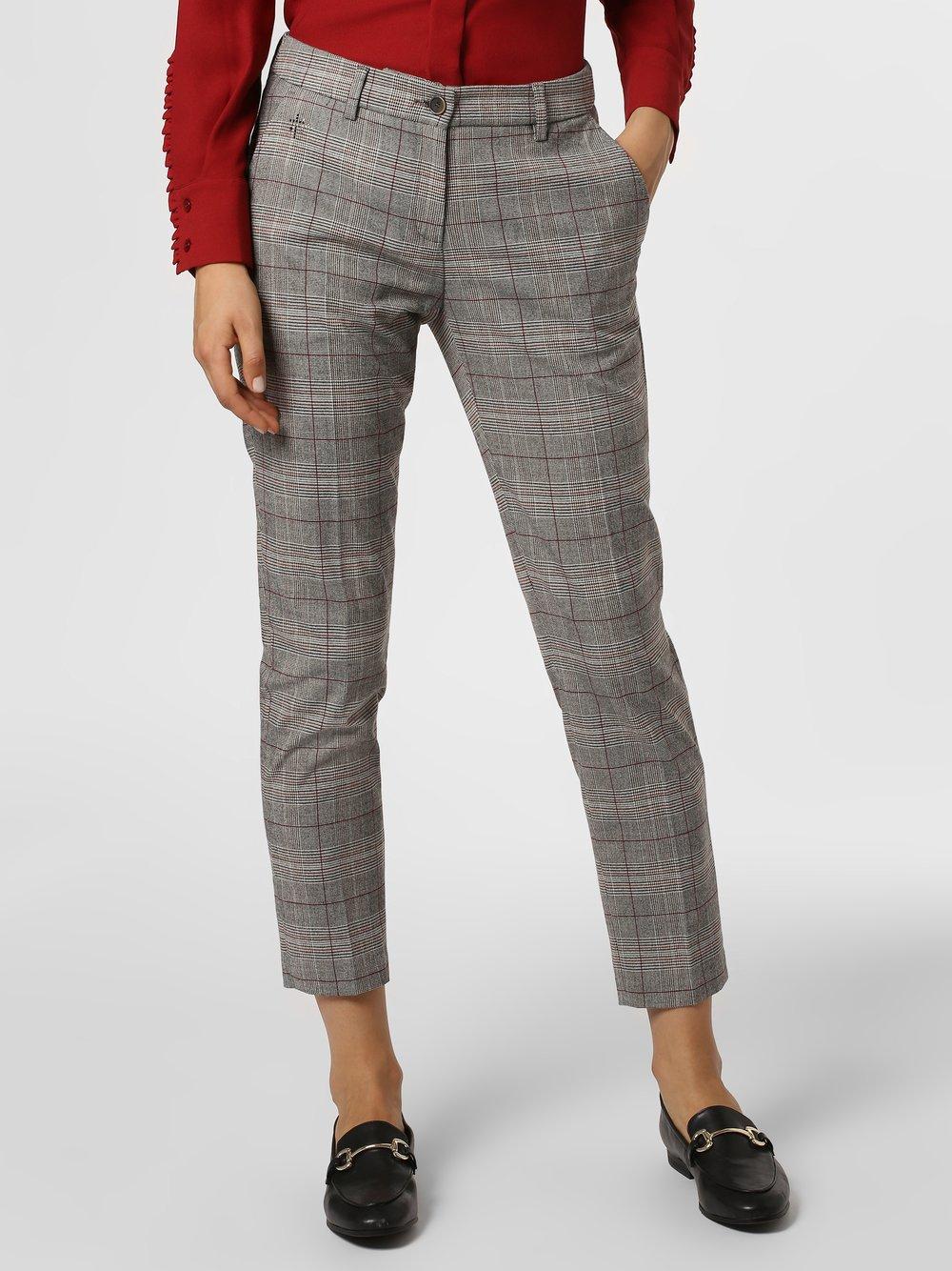 BRAX - Spodnie damskie – Maron, brązowy