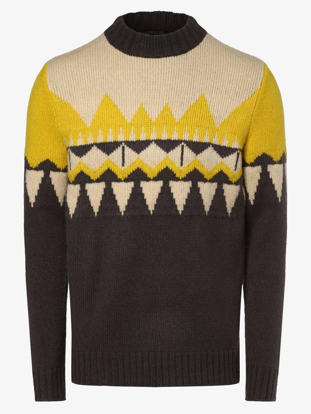 Drykorn - Sweter męski – Zayn, szary