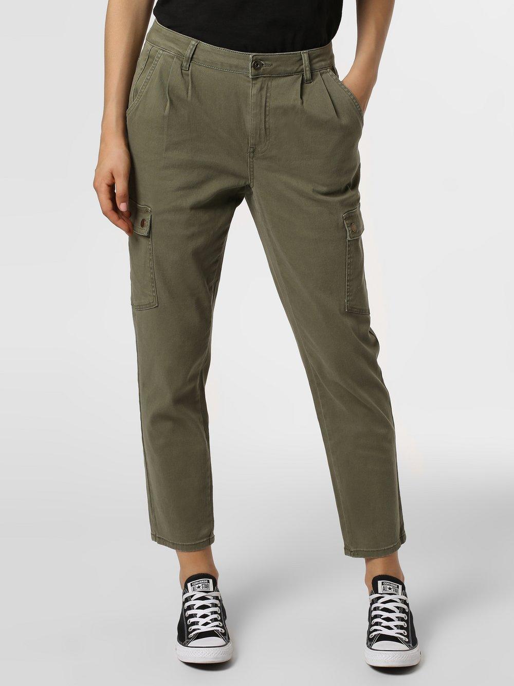Noisy May - Spodnie damskie – Nmbronx, zielony